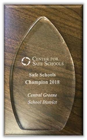 Picture of Safe School Champion Award